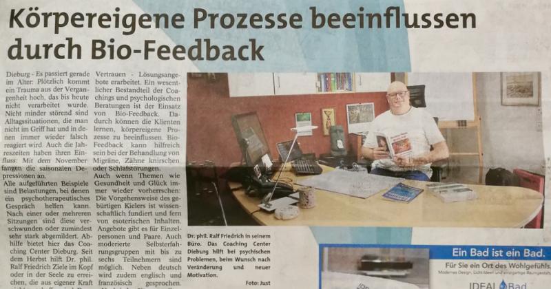 Bericht im Dieburger Anzeiger