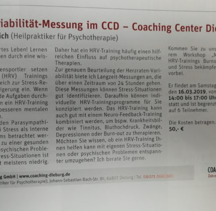 Bio-Feedback und Neuro-Feedback-Training