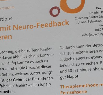 AD(H)S mit Neuro-Feedback therapieren